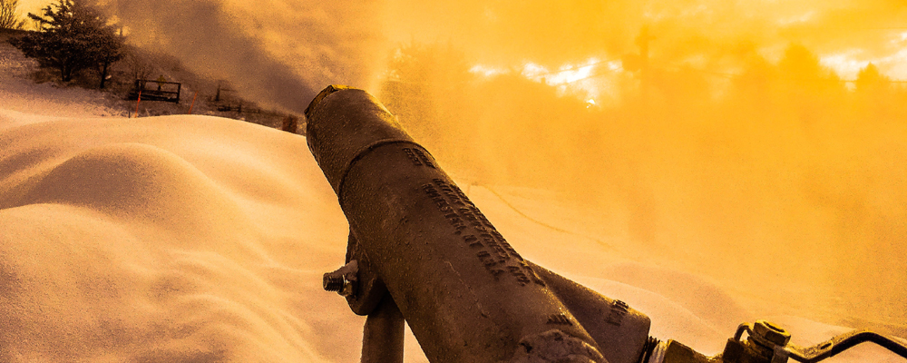 THE ART OF SNOWMAKING